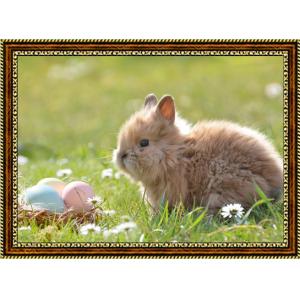 Репродукция с пасхальными кроликами - 8