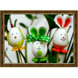 Репродукция с пасхальными кроликами - 15