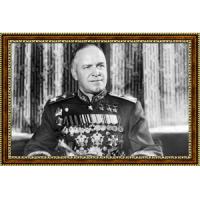 Портрет Владимира Путина - 14 в рамке под стеклом