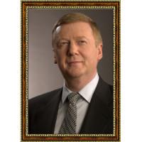 Портрет Генерального секретаря СССР Никиты Хрущева