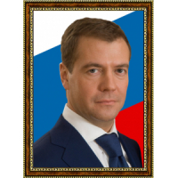 Портрет Патриарха Кирилла - 6 в рамке под стеклом