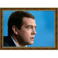 Портрет Патриарха Кирилла - 5 в рамке под стеклом