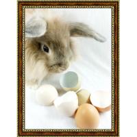 Репродукция с пасхальными кроликами - 2
