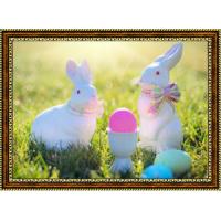 Репродукция с пасхальными кроликами - 7