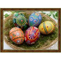 Репродукция с пасхальными яйцами - 4