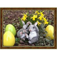 Репродукция с пасхальными кроликами - 5