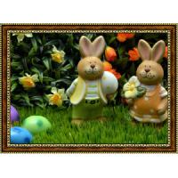 Репродукция с пасхальными кроликами - 10