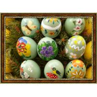 Репродукция с пасхальными яйцами - 5