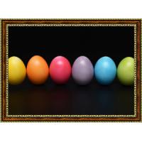 Репродукция с пасхальными яйцами - 8