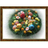 Репродукция с пасхальными яйцами - 6