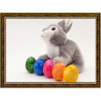 Репродукция с пасхальными кроликами - 14