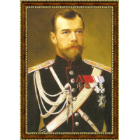Николай Второй 40х60